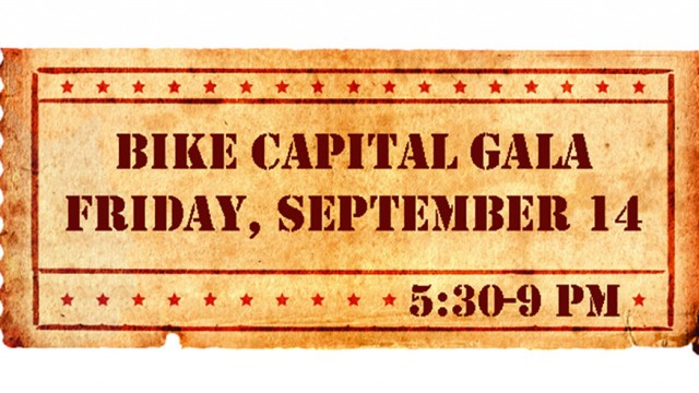 2012 Bike Capital Gala Ticket